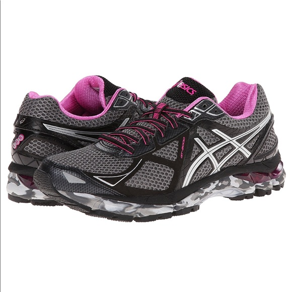 competitive price ccdeb cbc48 Asics Shoes - Women GT-2000 3 Trail Charcoal Lightning Hot Pink